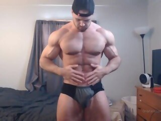 Alohatube bodybuilder worship muscle