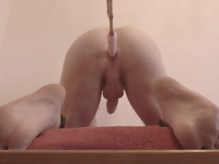 Alohatube prostate orgasm massage